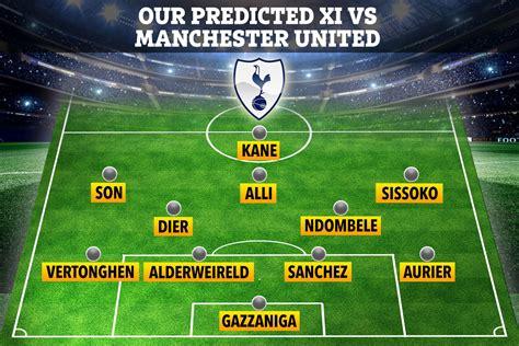 Is Man Utd vs Tottenham on TV? Channel, live stream, team ...