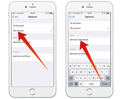 iphone text signature how to remove sent from my iphone email signature