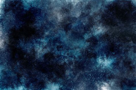 Dark Watercolor Background Cloud Space Wallpaper Photo