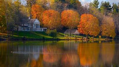 Fall Wallpapers Landscape Desktop Autumn Backgrounds Background
