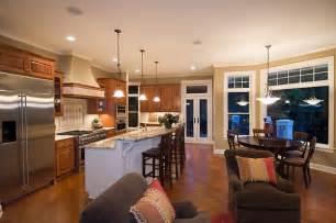 kitchen great room ideas open kitchen floor plans found in southern california