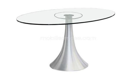 table de salle 224 manger en verre avec plateau ovale 150 x 90 cm