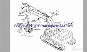 Hyundai Robex R140lc 9 Crawler Excavator Full Service