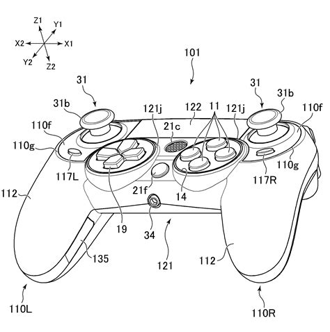 n motion playstation 4 controller patent shows the dualshock 4 s that could been ds4