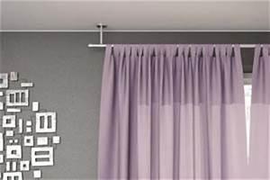Support Tringle Rideau Plafond : installer une tringle rideaux au plafond devis fen tre ~ Dailycaller-alerts.com Idées de Décoration