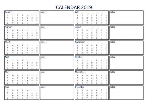 calendar   notes  templates