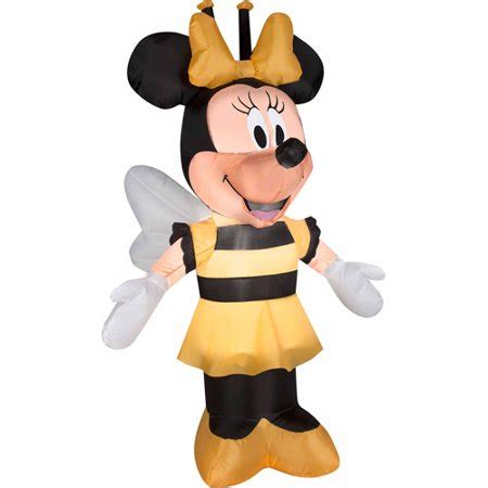 disney airblown inflatables minnie  bee costume