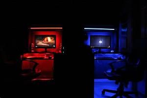 Gaming Zimmer Ideen : 25 einzigartige gaming tisch ideen auf pinterest ideen f r gaming zimmer ikea diy und ikea hacks ~ Markanthonyermac.com Haus und Dekorationen