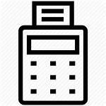 Icon Billing Bill Machine Invoice Ticket Payment