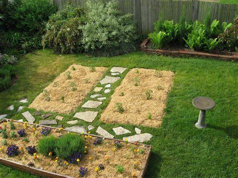 mulch gardens alfalfa mulch on garden beds racine wisconsin