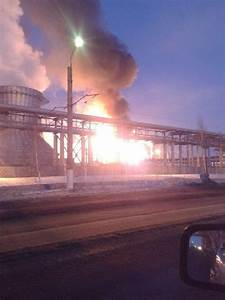 Largest Oil Refinery in Europe is on Fire | English Russia