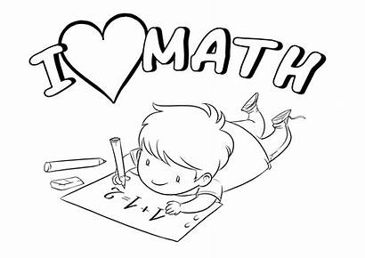 Math Coloring Pages Printable