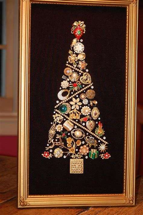 Items Similar To Gold And Pearl Vintage Jewelry Christmas