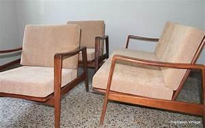 Canapé Vintage Scandinave : canap fauteuils design scandinave 70 39 s inspiration vintage ~ Teatrodelosmanantiales.com Idées de Décoration