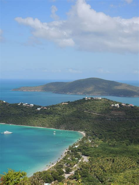 Taking To The Skies Above Magens Bay St Thomas Us