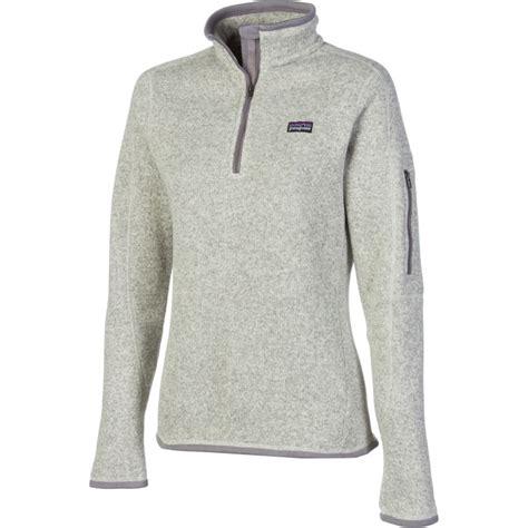 patagonia better sweater patagonia better sweater 1 4 zip fleece jacket 39 s