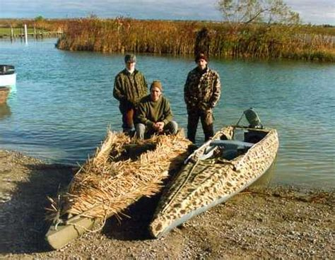 Duck Hunters Boat Page by Boat Blind Ideas My Scissors Blind Build Iawaterfowlers