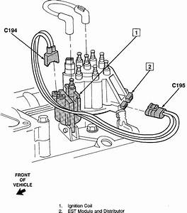 Where Is The Crankshaft Sensor Located On A 1991 Chevy