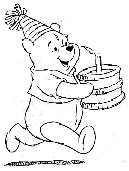 birthday coloring pages coloring pages  print