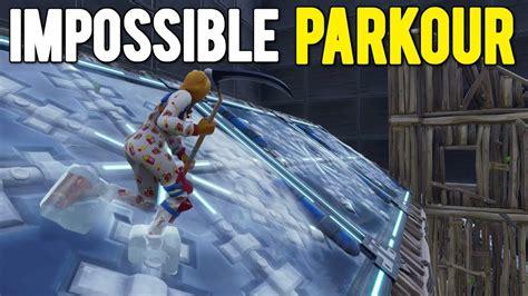 impossible parkour deathrun  fortnite creative
