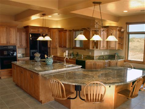 large kitchen designs with islands large kitchen island with seating homes gallery
