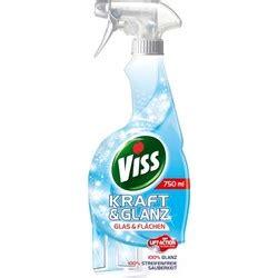 Viss Kraft & Glanz Glas & Flächen Sprayflasche 750 ml ...
