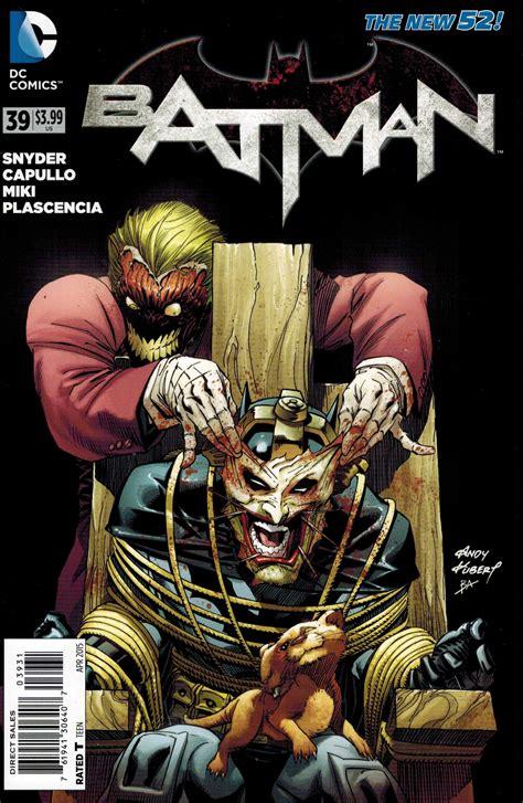 Batman #39 125 Andy Kubert Variant Joker Dc New 52
