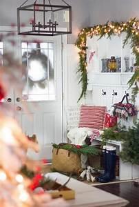 Decoration Buche De Noel Maison : d co entr e maison no l pour un foyer d 39 ambiance festive ~ Preciouscoupons.com Idées de Décoration