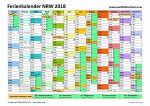 Jahreskalender 2019 A4 : schulferienkalender nrw 2018 in nachhilfeschulen nrw ~ Kayakingforconservation.com Haus und Dekorationen