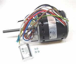 Furnace Air Handler Blower Motor 3  4 Hp 1075 Rpm 115 Volt