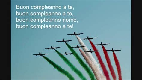 buon compleanno testo buon compleanno testo italian happy birthday lyrics