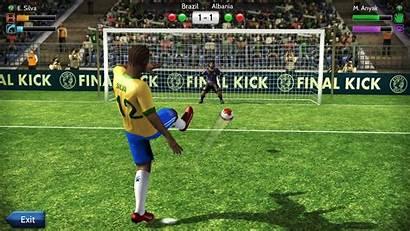 Kick Final Penalty Football Futebol Fotbal Jocuri