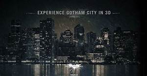 """""""Visit Gotham City in 3D"""". Nokia offers a thrilling in ..."""