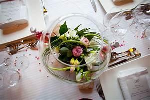 Deco Centre De Table Mariage : decoration centre de table pour mariage le mariage ~ Teatrodelosmanantiales.com Idées de Décoration
