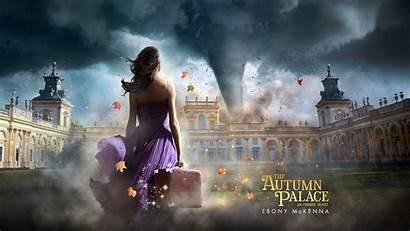 Autumn Palace Wallpapers Background Novel Fantasy Magical