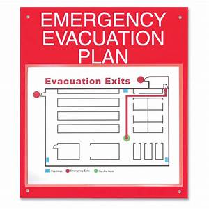 Map out your emergency evacuation plan board for Fire evacuation plan template for office