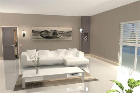 interieur maison contemporaine salon sol beige recherche
