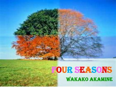 four seasons power point