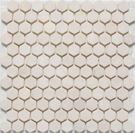 mosaic hexagon floor tile hexagon mosaic tiles traditional mosaic tile by mission stone tile