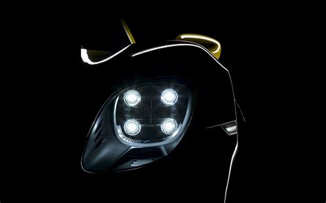 porsche 918 headlights 2014 porsche 918 spyder yellow details headlight
