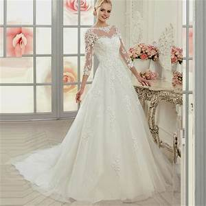 Wedding dresses ball gown lace sleeves naf dresses for Long sleeve ball gown wedding dress