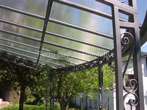 tettoie ferro battuto tettoie pensiline in ferro battuto a cugliate varese