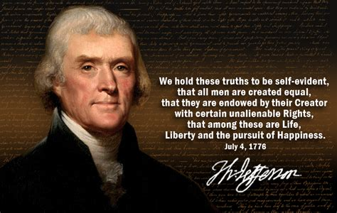 Thomas Jefferson Declaration Quotes Quotesgram