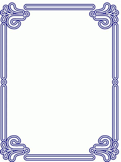 rahmen blaue zeichen ausmalbild malvorlage rahmen