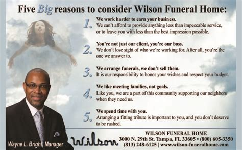 Wilson Funeral Home by Wilson Funeral Home 171 Dsi Black Pages