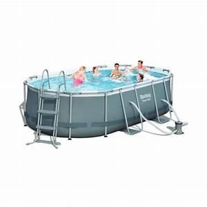 Piscine Hors Sol 4x2 : piscine hors sol tubulaire intex 14 achat vente piscine piscine tubulaire ovale 4 2 cdiscount ~ Melissatoandfro.com Idées de Décoration