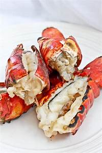 Grilled Lobster Tails with Bourbon Sauce - Easy Grilled ...