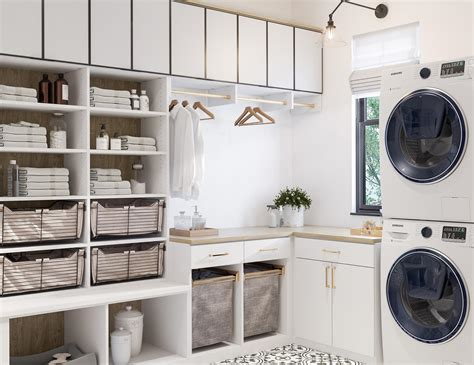 Utility Room Storage Cupboards by Laundry Room Cabinets Storage Ideas By California Closets