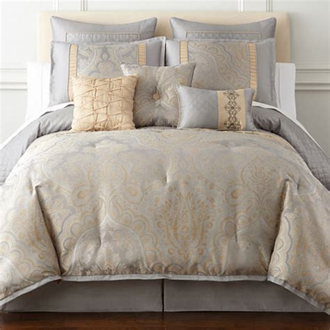 home expressions carlisle 7 pc comforter jcpenney