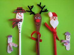 images  wooden spoon christmas  pinterest